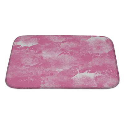 Art Primo Abstract Watercolor in Impressionism Style Bath Rug Size: Large