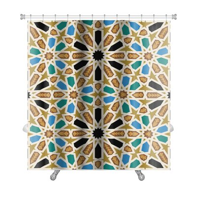 Gamma Traditional Arabic Premium Shower Curtain