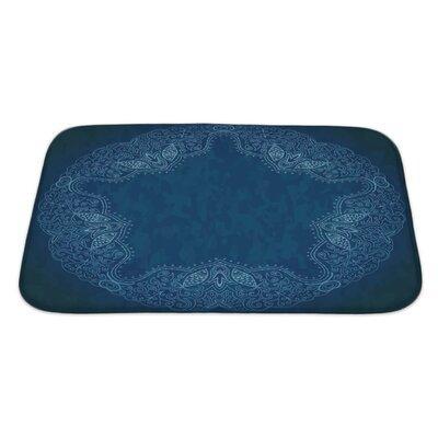 Cappa Ornamental Lace Pattern Bath Rug Size: Large