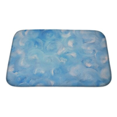 Cappa Abstract Painting Bath Rug Size: Small
