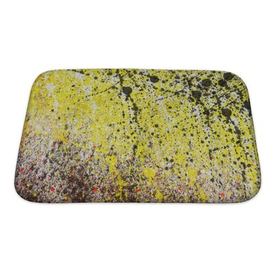 Art Alpha Abstract Splashes Bath Rug Size: Small