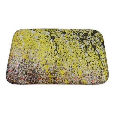 Art Alpha Abstract Splashes Bath Rug Size: Small