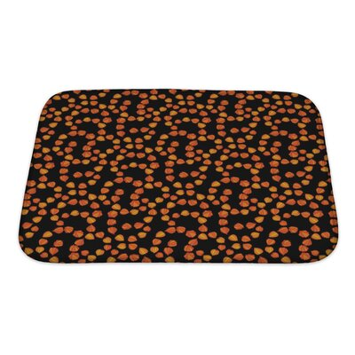 Bravo with Floral Theme of Cherry Bath Rug Size: Small