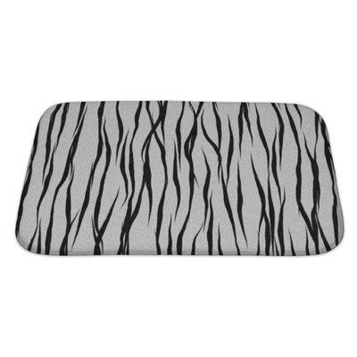 Alpha Animal Fur Bath Rug Size: Large