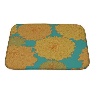 Flowers Amazing Flowers Bath Rug Size: Small