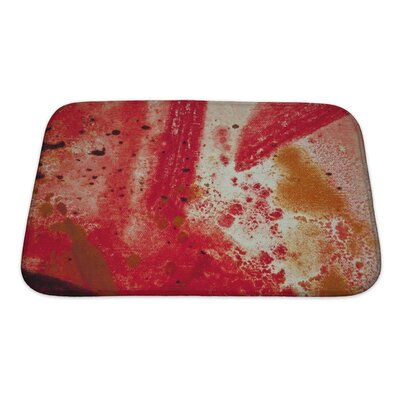 Art Beta Detailed Close Up of Oil Painting Bath Rug Size: Small