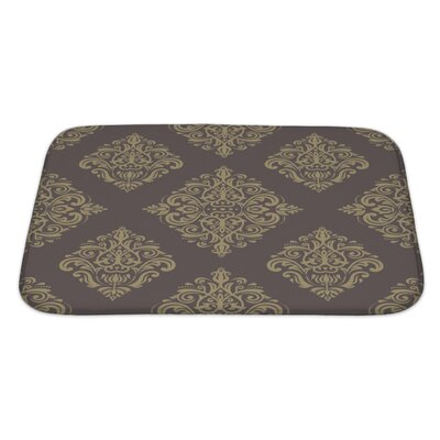 Primo Geometric Pattern Fine Traditional Fine Ornament with Oriental Elements Bath Rug Size: Large