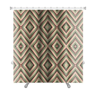 Beta Decorative Premium Shower Curtain