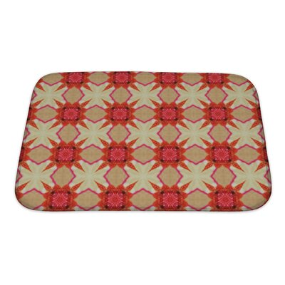 Primo Ethnic Pattern Abstract Kaleidoscope Bath Rug Size: Small
