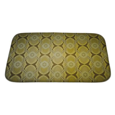 Beta Vintage Wallpaper Bath Rug Size: Large