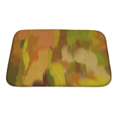 Art Beta Abstract Style as Early Impressionism Bath Rug Size: Small