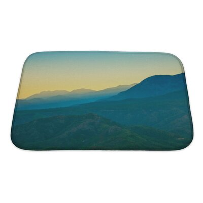 Landscapes Landscape in the Mountains Turkey Bath Rug Size: Small