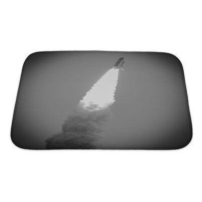 Patriotic Launch of Endeavour STS-134 in Cape Canaveral Bath Rug Size: Small