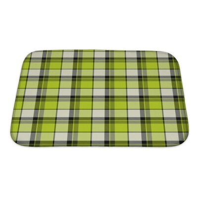 Picnic Old Cloth for Bath Rug Size: Small
