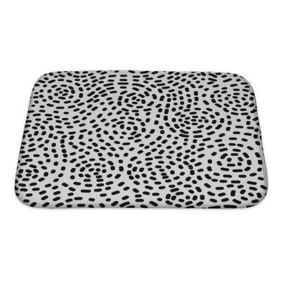 Cappa Swirl Pattern, Bath Rug Size: Small