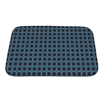 Slide Ethnic Pattern Abstract Kaleidoscope Bath Rug Size: Small