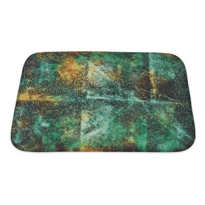 Art Primo Abstract Grunge Style Bath Rug Size: Small