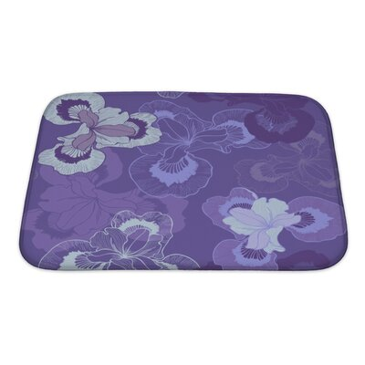 Cappa Floral Bath Rug Size: Small