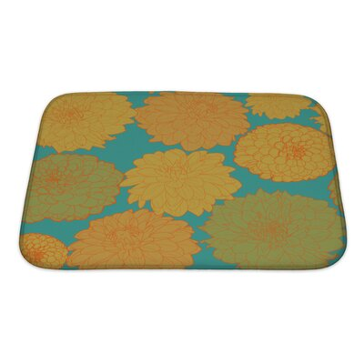 Flowers Amazing with Flowers Bath Rug Size: Small