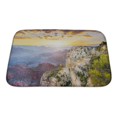 Landscapes Hopi Point, Grand Canyon National Park Bath Rug Size: Small