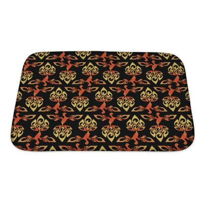 Alpha Firebird Bath Rug Size: Small