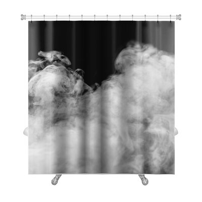 Nature Smoke from the Leaves Premium Shower Curtain