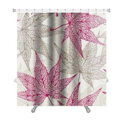Leaves Maple Leaves, Autumn Leaf Premium Shower Curtain