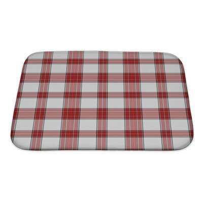 Picnic Bright Plaid Bath Rug Size: Small