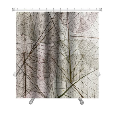 Leaves Silhouette Premium Shower Curtain