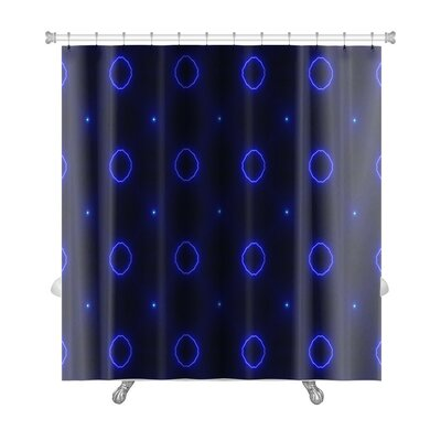 Primo Ethnic Pattern Abstract Kaleidoscope Premium Shower Curtain