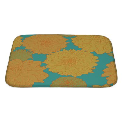 Flowers Amazing Flowers Bath Rug Size: Large