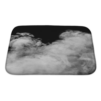 Nature Smoke from the Leaves Bath Rug Size: Small