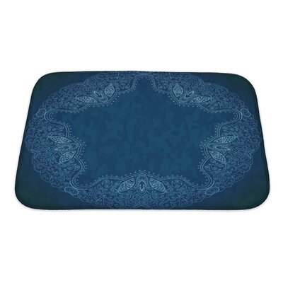 Cappa Ornamental Lace Pattern Bath Rug Size: Small