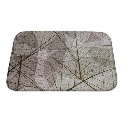 Leaves Leaves Silhouette Bath Rug Size: Small