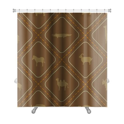 Animals Wild Animals Premium Shower Curtain