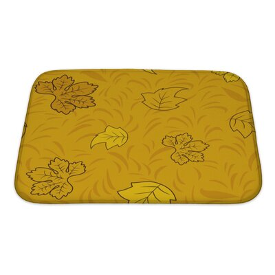 Slide Creative Pattern Bath Rug Size: Small