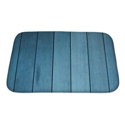 Wood Decking Bath Rug Size: Small