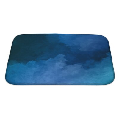 Art Primo Night Sky Digital Watercolor Painting Bath Rug Size: Large