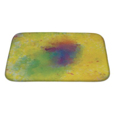Art Alpha Unusual Color Mosaic Bath Rug Size: Large