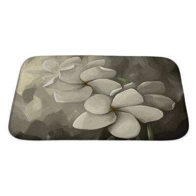 Flowers Digital Painting in Computer Bath Rug Size: Large