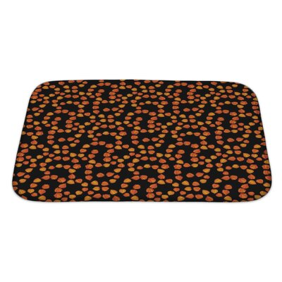 Bravo with Floral Theme of Cherry Bath Rug Size: Large