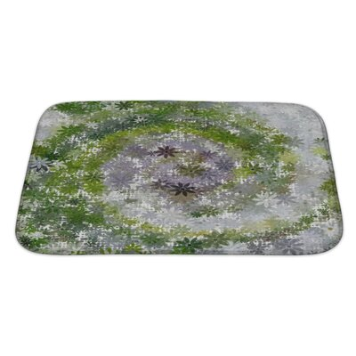 Art Beta Summer Garden Abstract Bath Rug Size: Large