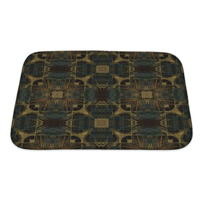 Bravo Nouveau Ornamental Bath Rug Size: Small