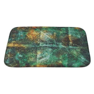 Art Primo Abstract Grunge Style Bath Rug Size: Large