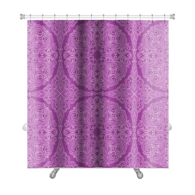 Cappa Leaf Background Premium Shower Curtain