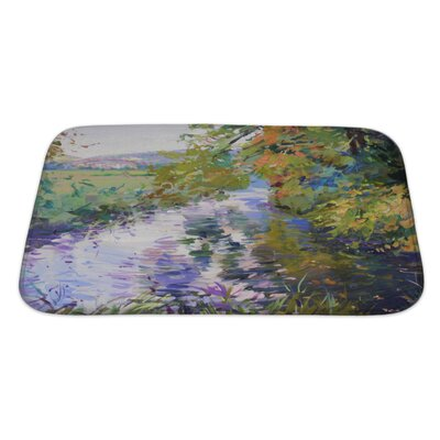 Art Beta Fall Landscape in Lower Saxony Bath Rug Size: Large