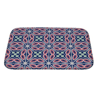 Simple Ethnic Kaleidoscope Bath Rug Size: Large
