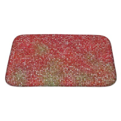 Kilo Pointillized Abstract Bath Rug Size: Large