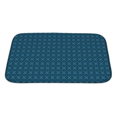 Slide Ethnic Kaleidoscope Bath Rug Size: Large