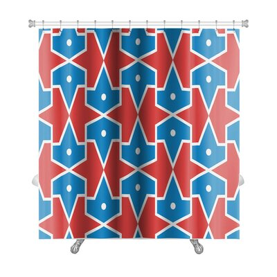 Alpha Traditional Islamic Pattern Premium Shower Curtain